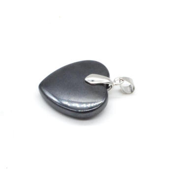 Fashion Popular Jewelry Black Hematite Heart-shaped Pendant